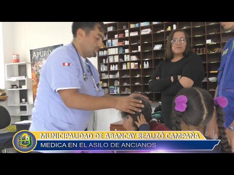 MUNICIPALIDAD DE ABANCAY REALIZA CAMPAÑA MEDICA EN EL ASILO DE ANCIANOS