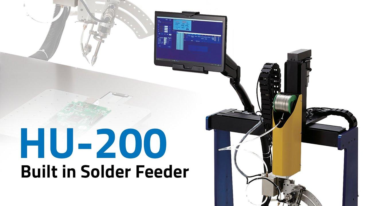 HU-200 Built In Solder Feeder