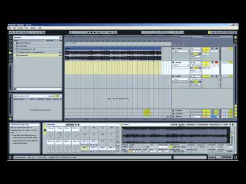 Ableton Live Tutorial – Chopping Samples MPC MPD Slice Presets Choke Groups Drum Racks