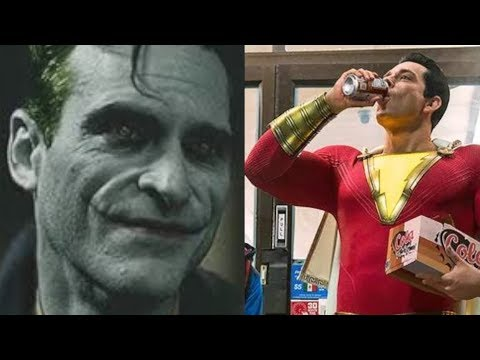 Joaquin Phoenix Joker Film Is Coming & First Official Image Of Shazam!