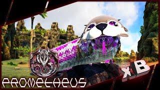 Giant Primal Snake! :: Modded ARK: Prometheus :: E13