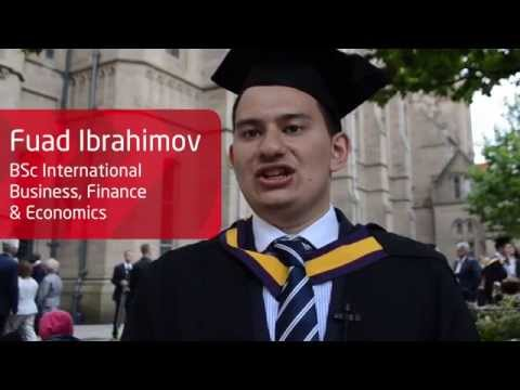 INTO Manchester Alumnus Graduation at The University of Manchester - Fuad Ibrahimov