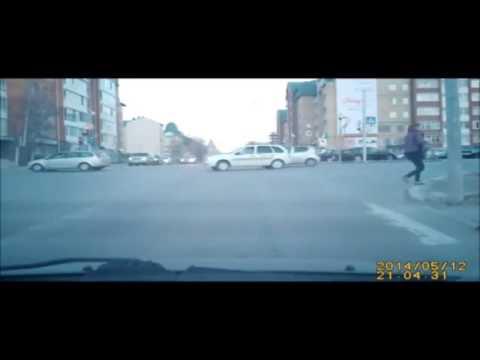 Авария с мотоциклистом задержание
