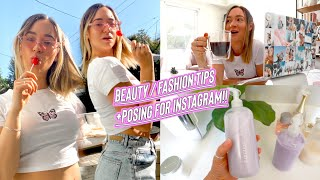 beauty/fashion tips + how to pose for instagram!! by Alisha Marie Vlogs