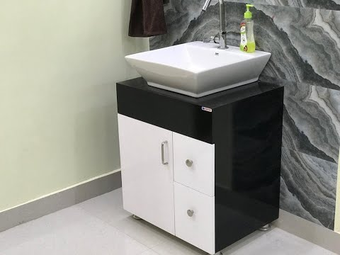 Counter Top wash Basin Cabinet with Price Details   interior Jagat