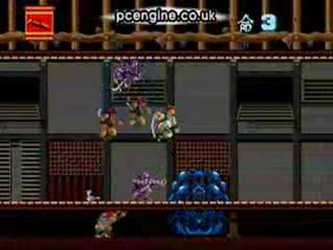ninja spirit pc engine rom