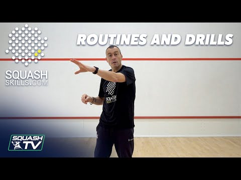 Squash Coaching: Routines and Drills