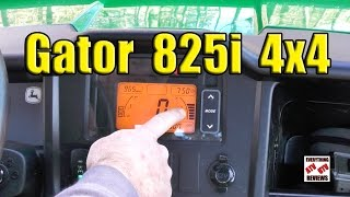 7. John Deere Gator 825i Gauges & Operation: Similar to Polaris Ranger, Honda Pioneer 1000