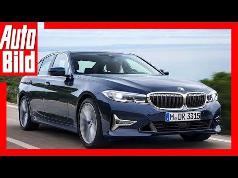 Zukunftsaussicht: BMW 3er G20 (2018) Details/Erklär ...