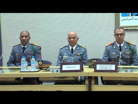 حفل تنصيب الجنرال دو بريكاد عبد الرزاق بوسيف مفتشا للوقاية المدنية