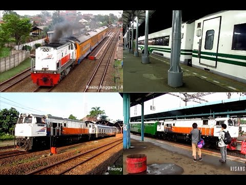 Train Departure - Sancaka, Turangga, Argo Bromo Anggrek, Taksaka, Patas AC, Cireks