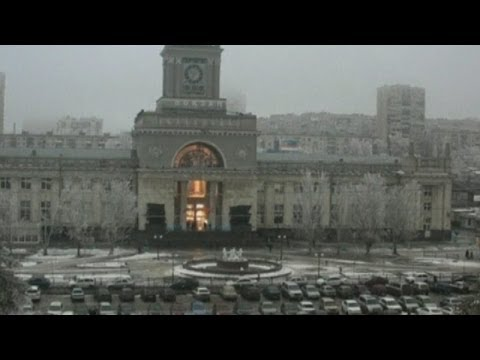 Suicide bomber explosion at Russia train station!