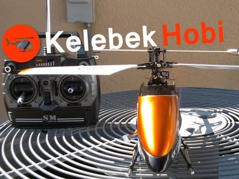 RC Uzaktan Kumandalı Helikopter Tek Rotorlu Model