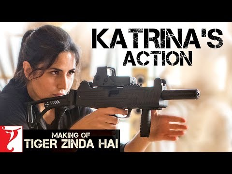 Katrina Kaif's Action | Making of Tiger Zinda Hai | Salman Khan | Ali Abbas Zafar