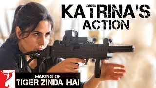 Katrina Kaif's Action   Making of Tiger Zinda Hai   Salman Khan   Ali Abbas Zafar