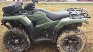 5. 2016 Honda rancher 420 4x4