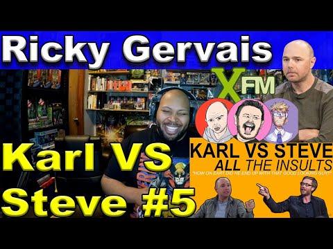 KARL VS STEVE - ALL THE INSULTS Reaction