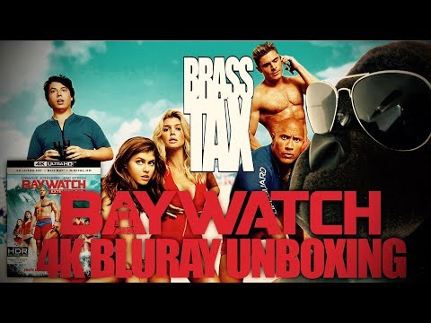 Baywatch 2017 4K Bluray Unboxing