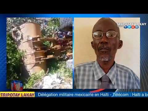 Video kote Majistra Port-de-Paix Tony Vernio  mouri, yon Traktè pase sou li (видео)