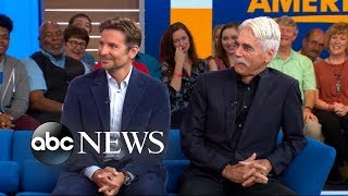 Video Sam Elliott on why Bradley Cooper's voice convinced him to do 'A Star Is Born' MP3, 3GP, MP4, WEBM, AVI, FLV November 2018
