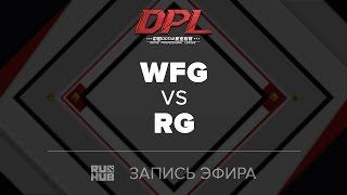 WFG vs RG, DPL Class A, game 1 [GodHunt]