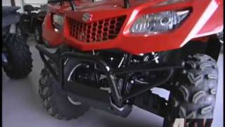 9. ATV Television Test - 2009 Suzuki King Quad 400 FS