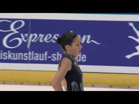 2016 ISU Junior Grand Prix - Dresden - Ladies Short Program - Tania Margarido
