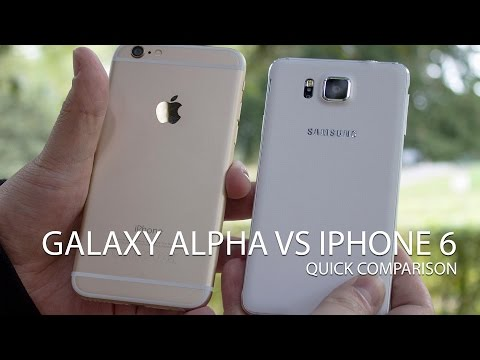 samsung - Samsung has a 4.7-inch metal framed phone, as does Apple. Time to take a quick look at the two side-by-side. Full comparison: http://www.androidcentral.com/samsung-galaxy-alpha-vs-iphone-6...