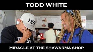 Video Todd White - Miracle at the Shawarma Shop (ISRAEL Part 8 ) MP3, 3GP, MP4, WEBM, AVI, FLV Februari 2018