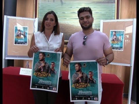 Presentación Concierto de Beret en Isla Cristina.
