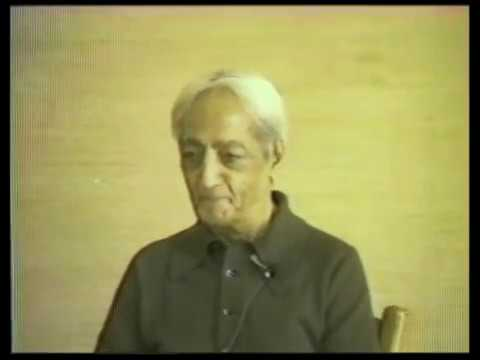 J. Krishnamurti - Wolf Lake School, Victoria, British Columbia 1978 - School Discussion  1