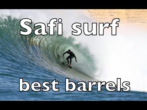 SAFI Surf Morocco  ... BEST BARRELS IN  AFRICA ..FULL HD/1080p