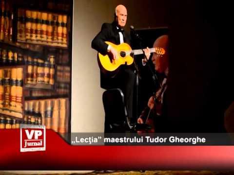 """""""Lecţia"""" maestrului Tudor Gheorghe, la Sinaia"""
