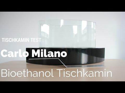 Tischkamin Test: Carlo Milano Bioethanol