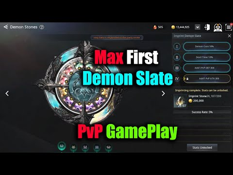 V4 Victory For Max First Demon Slate & PvP GamePlay