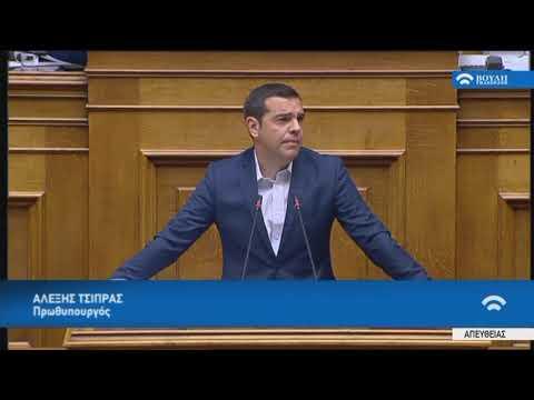 Α.Τσίπρας(Πρωθυπουργός)(Μέτρα για την προώθηση των Θεσμών της Αναδοχής και Υιοθεσίας)(09/05/2018)