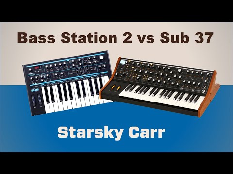 Bass Station Ii Vs Sub 37