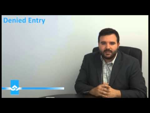 Denied Entry to Canada Basics Video