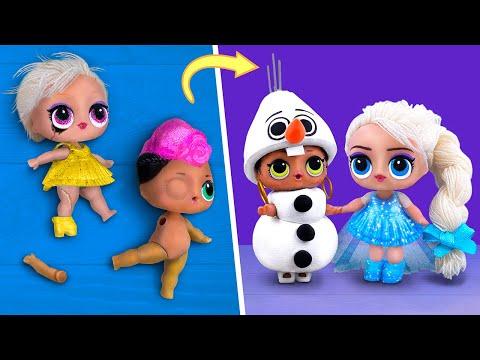 Nữ hoàng băng giá Elsa làm nhà may với mẫu thời trang độc lạ (Elsa Fashion Tailor)