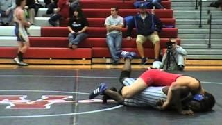 Luke Drenon Odessa vs Marcus Cox Bolivar 138 lbs 2
