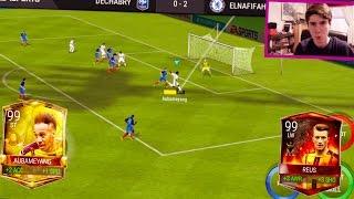 Video THE FASTEST PLAYER IN FIFA MOBILE w/ GAMEPLAY!!! 99 OVR GOLDEN EGG AUBAMEYANG!!   FIFA Mobile iOS MP3, 3GP, MP4, WEBM, AVI, FLV Oktober 2017
