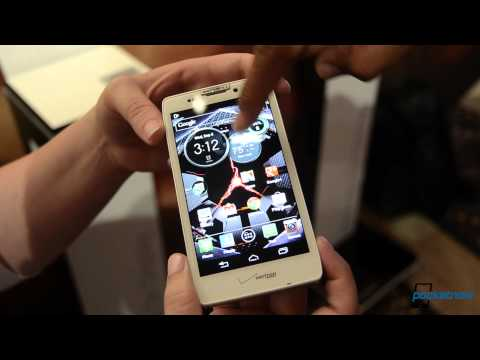 Motorola Droid RAZR M實機上手影片