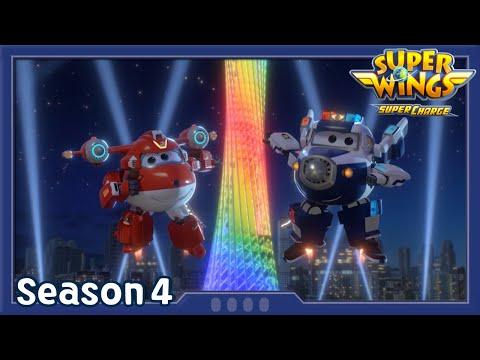 Guangzhou Lightshow | Superwings season4 | EP02