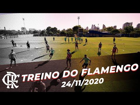 TREINO DO FLAMENGO – Rogério Ceni comanda o último treino antes do primeiro jogo contra o Racing