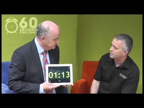 Gerry McCusker, The Melting Pot takes the 60 Second Challenge