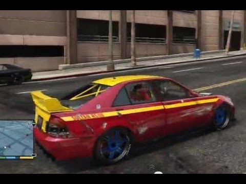 GTA 5 DRIFT CAR FUN TUNING CRASH STUNT PURSUIT ACCIDENT