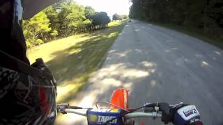 7. KTM 125sx Top Speed Runs