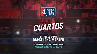 DIRECTO - Cuartos de Final Barcelona Master 2016 | World Padel Tour