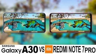 Samsung Galaxy A30 Vs Redmi Note 7 Pro Camera Test