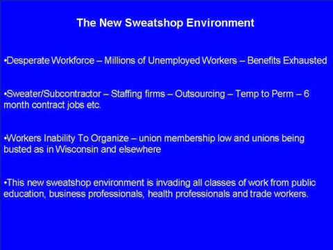 Sweatshop USA